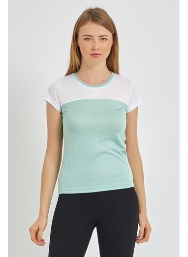 Slazenger Slazenger RANDERS I Kadın T-Shirt  Yeşil